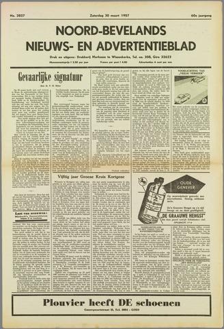 Noord-Bevelands Nieuws- en advertentieblad 1957-03-30