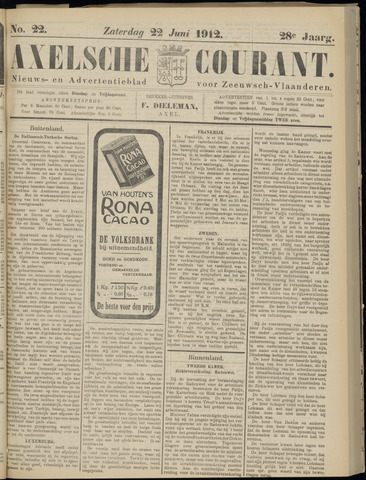 Axelsche Courant 1912-06-22