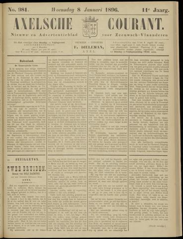 Axelsche Courant 1896-01-08