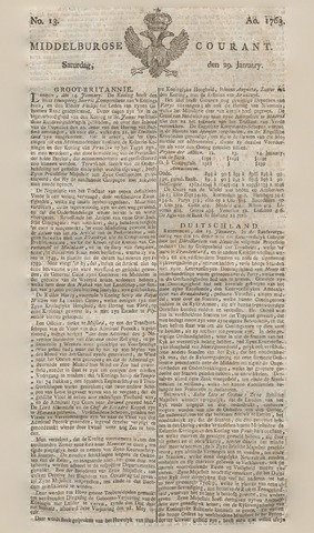 Middelburgsche Courant 1763-01-29