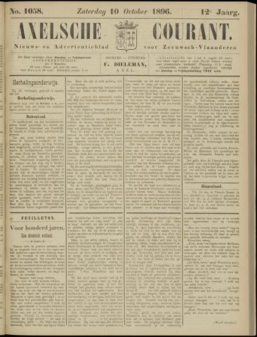 Axelsche Courant 1896-10-10