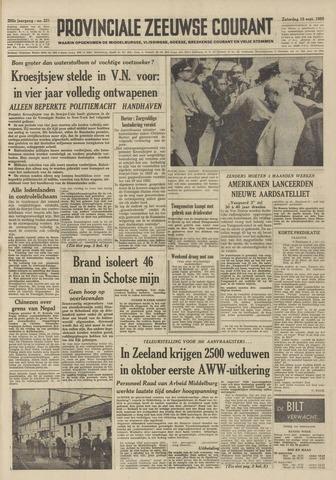 Provinciale Zeeuwse Courant 1959-09-19