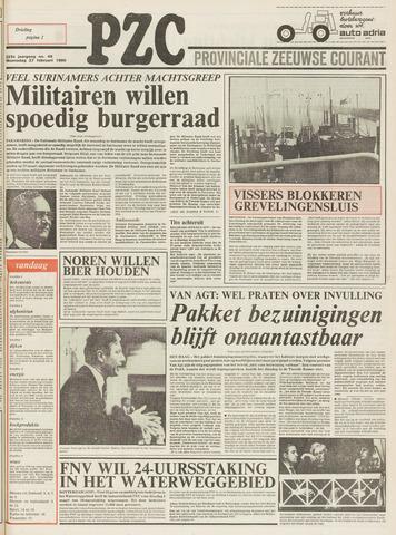 Provinciale Zeeuwse Courant 1980-02-27