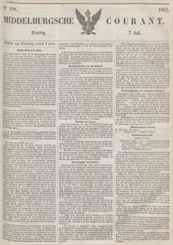 Middelburgsche Courant 1867-07-07