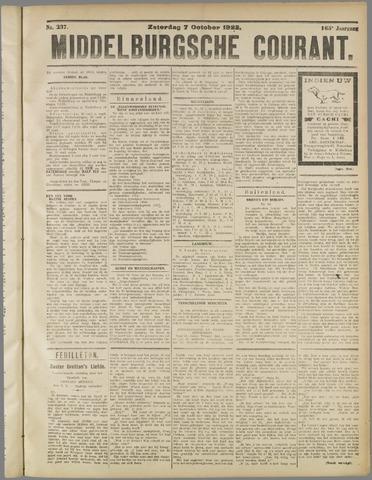 Middelburgsche Courant 1922-10-07