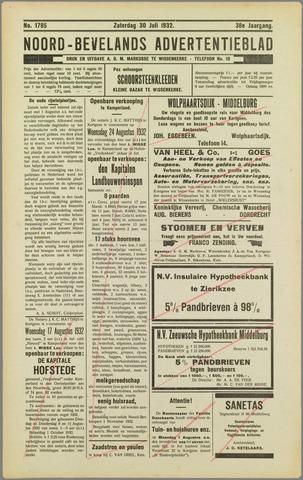 Noord-Bevelands Nieuws- en advertentieblad 1932-07-30