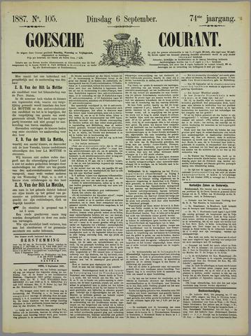 Goessche Courant 1887-09-06