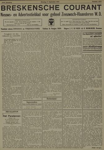 Breskensche Courant 1935-09-17