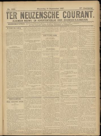 Ter Neuzensche Courant. Algemeen Nieuws- en Advertentieblad voor Zeeuwsch-Vlaanderen / Neuzensche Courant ... (idem) / (Algemeen) nieuws en advertentieblad voor Zeeuwsch-Vlaanderen 1927-09-19