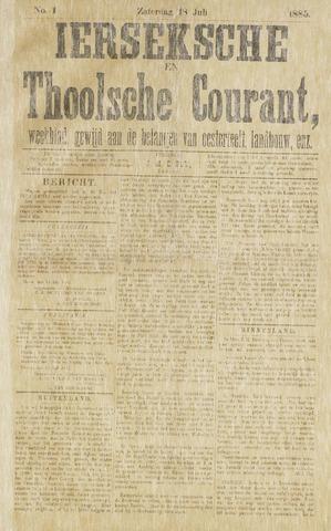 Ierseksche en Thoolsche Courant 1885-07-18