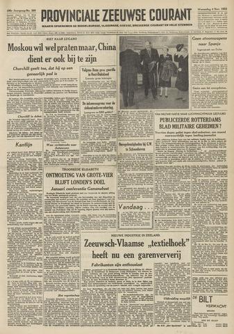 Provinciale Zeeuwse Courant 1953-11-04