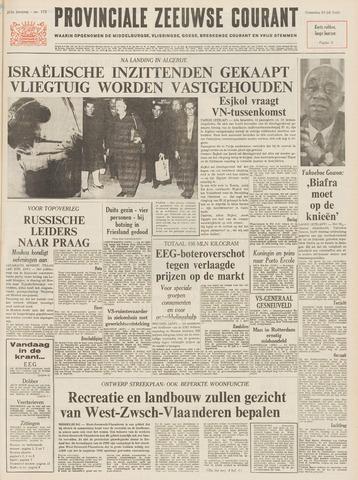 Provinciale Zeeuwse Courant 1968-07-24