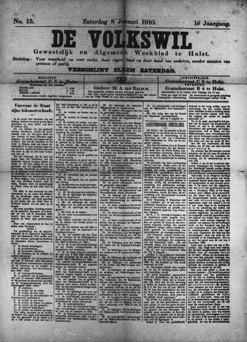 Volkswil/Natuurrecht. Gewestelijk en Algemeen Weekblad te Hulst 1910