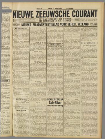 Nieuwe Zeeuwsche Courant 1932-08-30