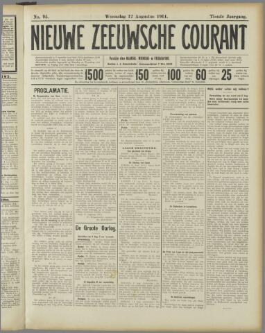 Nieuwe Zeeuwsche Courant 1914-08-12