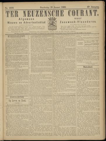 Ter Neuzensche Courant. Algemeen Nieuws- en Advertentieblad voor Zeeuwsch-Vlaanderen / Neuzensche Courant ... (idem) / (Algemeen) nieuws en advertentieblad voor Zeeuwsch-Vlaanderen 1909-01-28
