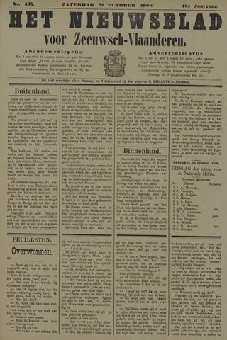 Nieuwsblad voor Zeeuwsch-Vlaanderen 1900-10-27