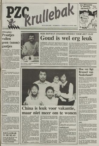 Provinciale Zeeuwse Courant katern Krullenbak (1981-1999) 1989-06-13