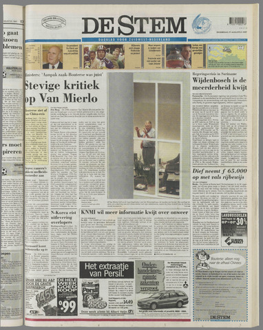 de Stem 1997-08-27