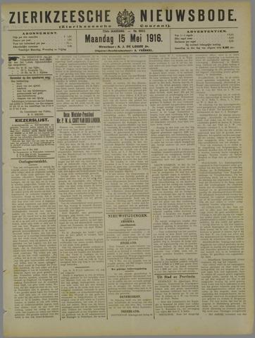 Zierikzeesche Nieuwsbode 1916-05-15