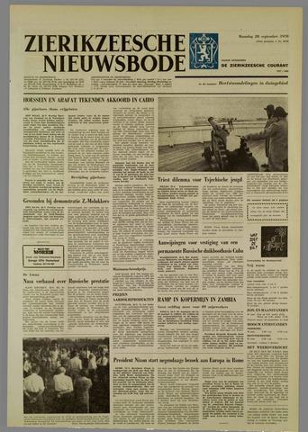 Zierikzeesche Nieuwsbode 1970-09-28