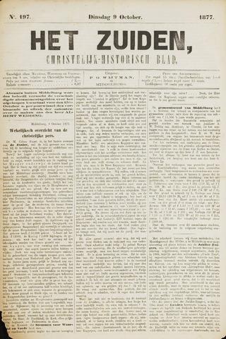 Het Zuiden, Christelijk-historisch blad 1877-10-09