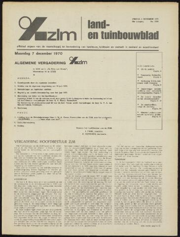 Zeeuwsch landbouwblad ... ZLM land- en tuinbouwblad 1970-12-02