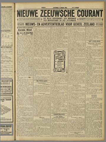 Nieuwe Zeeuwsche Courant 1928-01-21