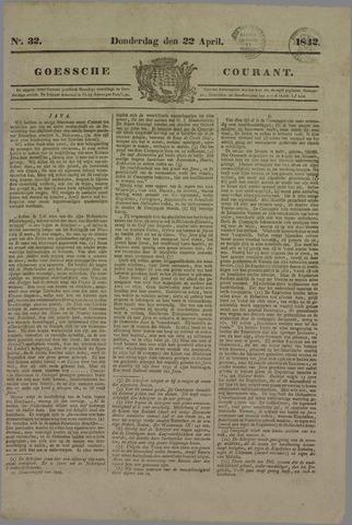 Goessche Courant 1842-04-22