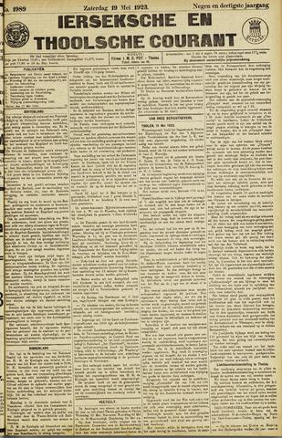Ierseksche en Thoolsche Courant 1923-05-19