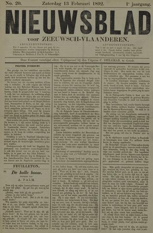 Nieuwsblad voor Zeeuwsch-Vlaanderen 1892-02-13