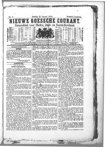 Nieuwe Goessche Courant 1878-01-22