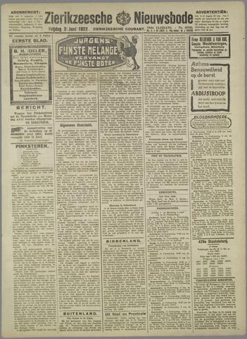 Zierikzeesche Nieuwsbode 1922-06-02