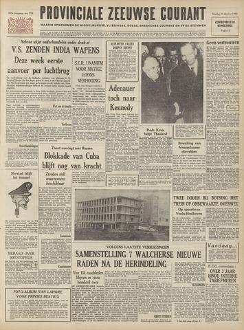 Provinciale Zeeuwse Courant 1962-10-30