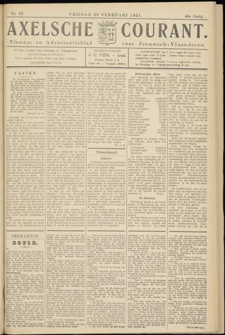 Axelsche Courant 1931-02-20