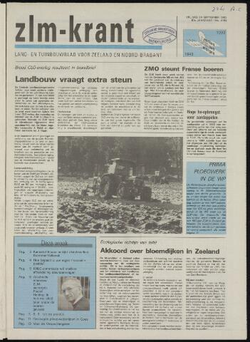Zeeuwsch landbouwblad ... ZLM land- en tuinbouwblad 1993-09-24