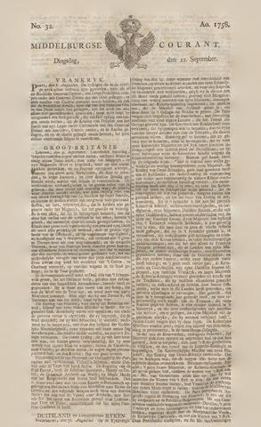 Middelburgsche Courant 1758-09-12
