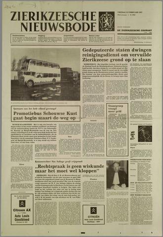 Zierikzeesche Nieuwsbode 1987-02-13
