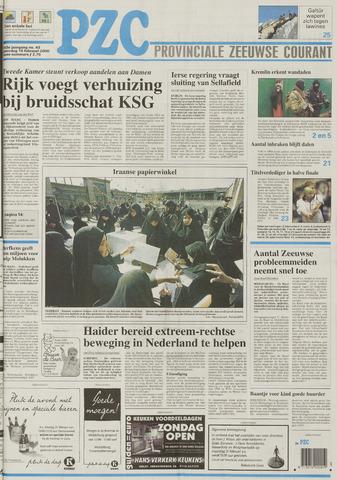 Provinciale Zeeuwse Courant 2000-02-19