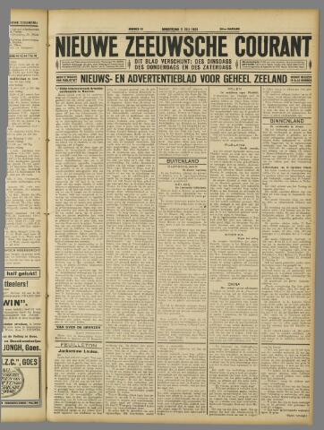 Nieuwe Zeeuwsche Courant 1928-07-05
