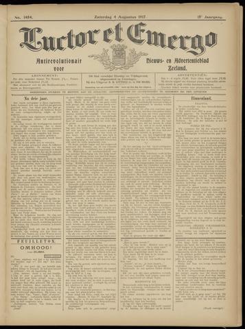 Luctor et Emergo. Antirevolutionair nieuws- en advertentieblad voor Zeeland / Zeeuwsch-Vlaanderen. Orgaan ter verspreiding van de christelijke beginselen in Zeeuwsch-Vlaanderen 1917-08-04
