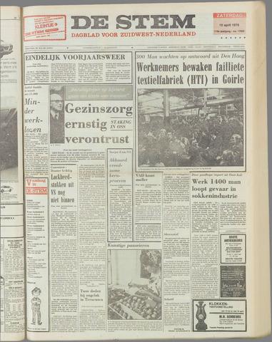 de Stem 1976-04-10