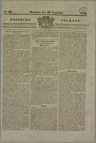 Goessche Courant 1842-08-22
