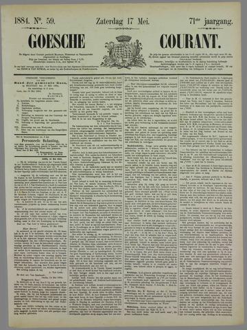 Goessche Courant 1884-05-17