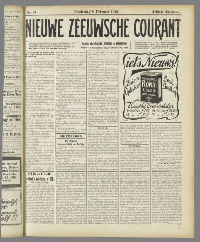 Nieuwe Zeeuwsche Courant 1912-02-08