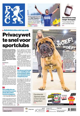 Provinciale Zeeuwse Courant 2018-04-03