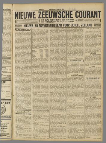 Nieuwe Zeeuwsche Courant 1932-01-21