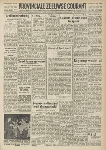 Provinciale Zeeuwse Courant 1948-08-28