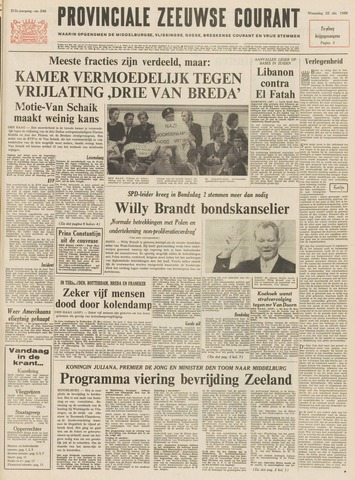 Provinciale Zeeuwse Courant 1969-10-22