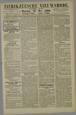 Zierikzeesche Nieuwsbode 1900-05-29